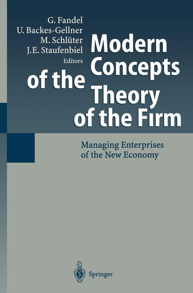 Modern Concepts of the Theory of the Firm als e...