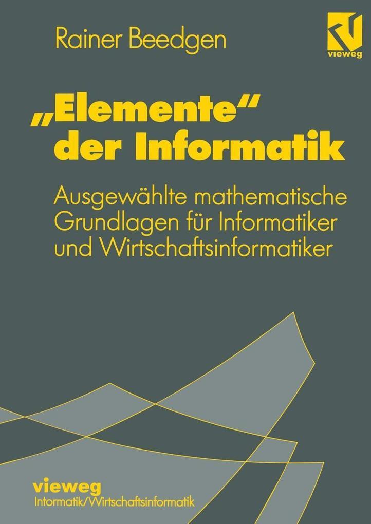 Elemente&quote; der Informatik als eBook Downlo...