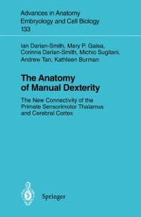 Anatomy of Manual Dexterity als eBook Download ...