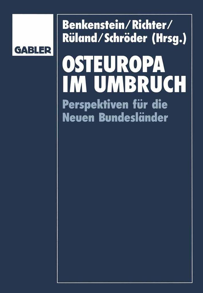 Osteuropa im Umbruch als eBook Download von