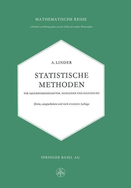 Statistische Methoden fur Naturwissenschafter, ...
