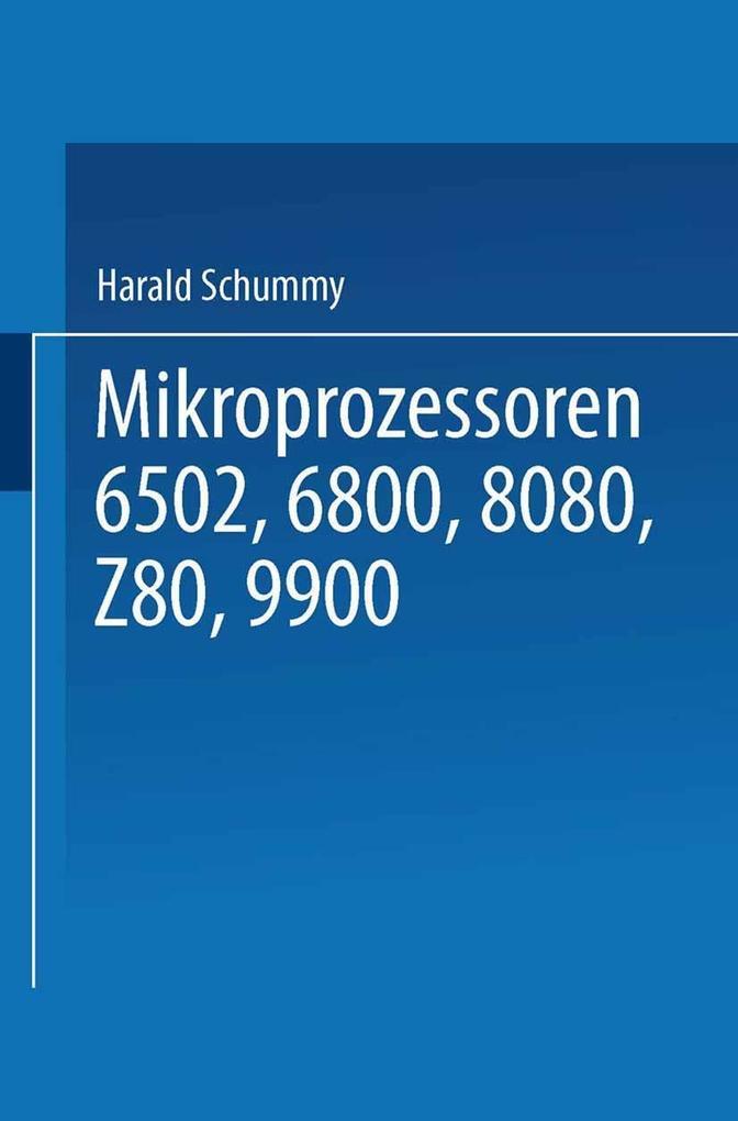 Mikroprozessoren als eBook Download von Harald ...