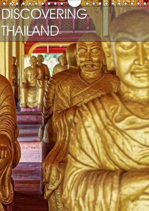 Discovering Thailand (Wall Calendar 2019 DIN A4...