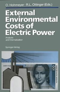 External Environmental Costs of Electric Power ...
