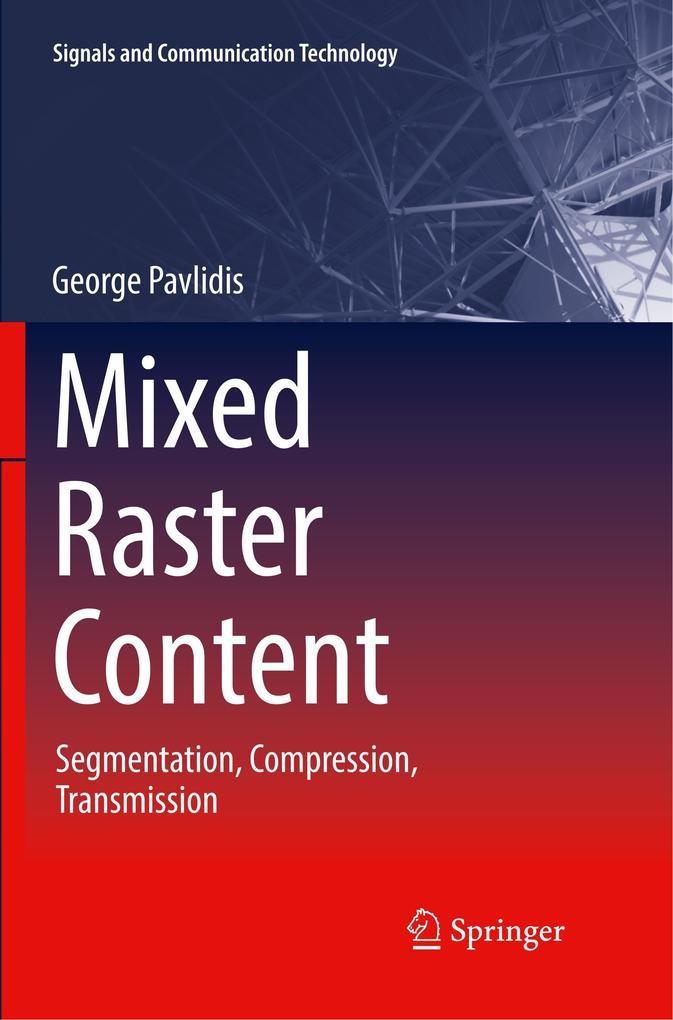 Mixed Raster Content als Buch von George Pavlidis