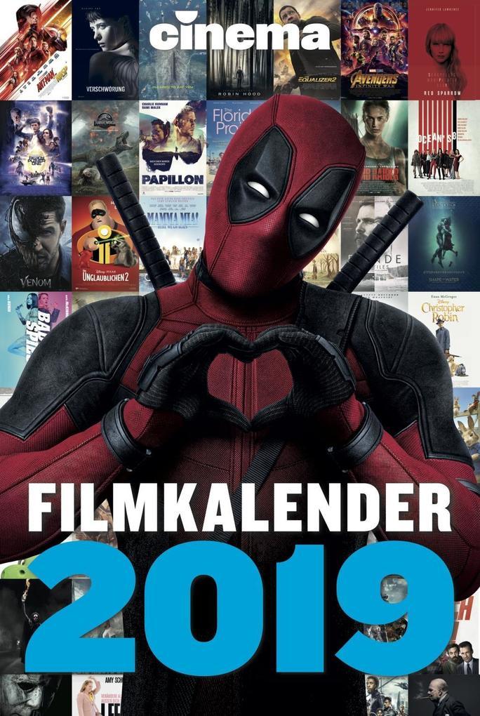 CINEMA Filmkalender 2019 als Kalender