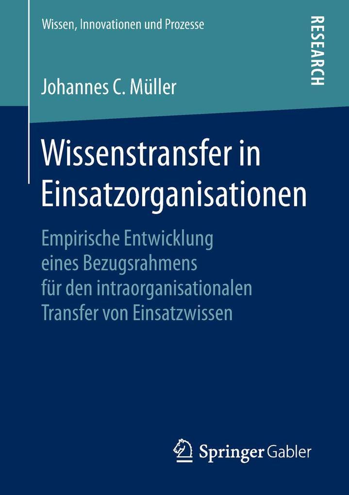 Wissenstransfer in Einsatzorganisationen als eB...