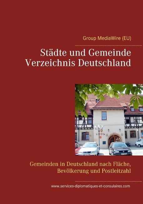 St'e und Gemeinde Verzeichnis Deutschland als Buch