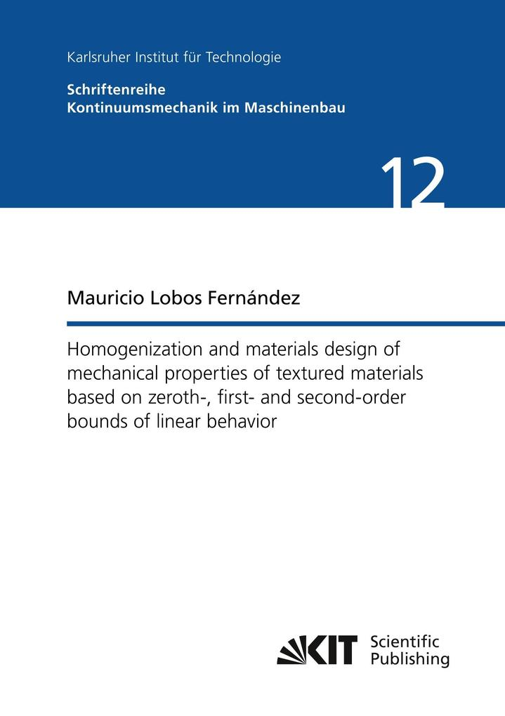 Homogenization and materials design of mechanic...