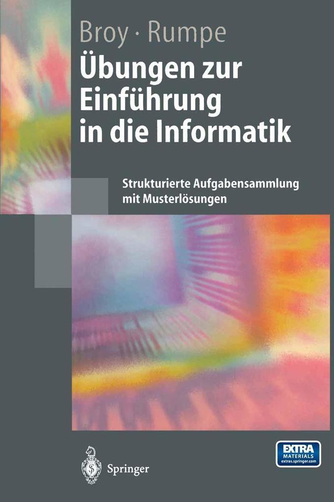 Ubungen zur Einfuhrung in die Informatik als eB...