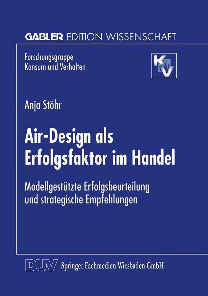 Air-Design als Erfolgsfaktor im Handel als eBoo...