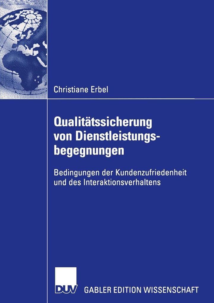 Qualitatssicherung von Dienstleistungsbegegnung...