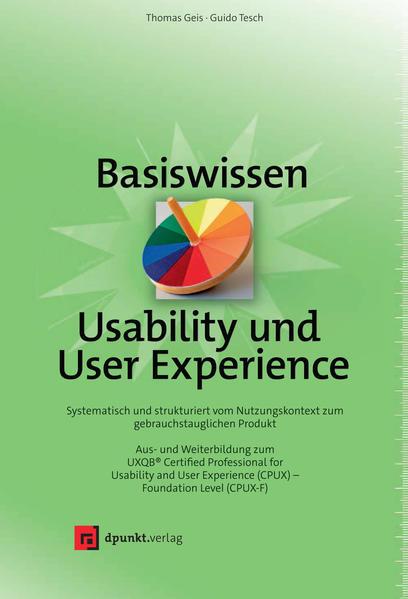Basiswissen Usability und User Experience als Buch