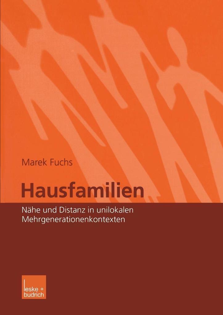 Hausfamilien als eBook Download von Marek Fuchs