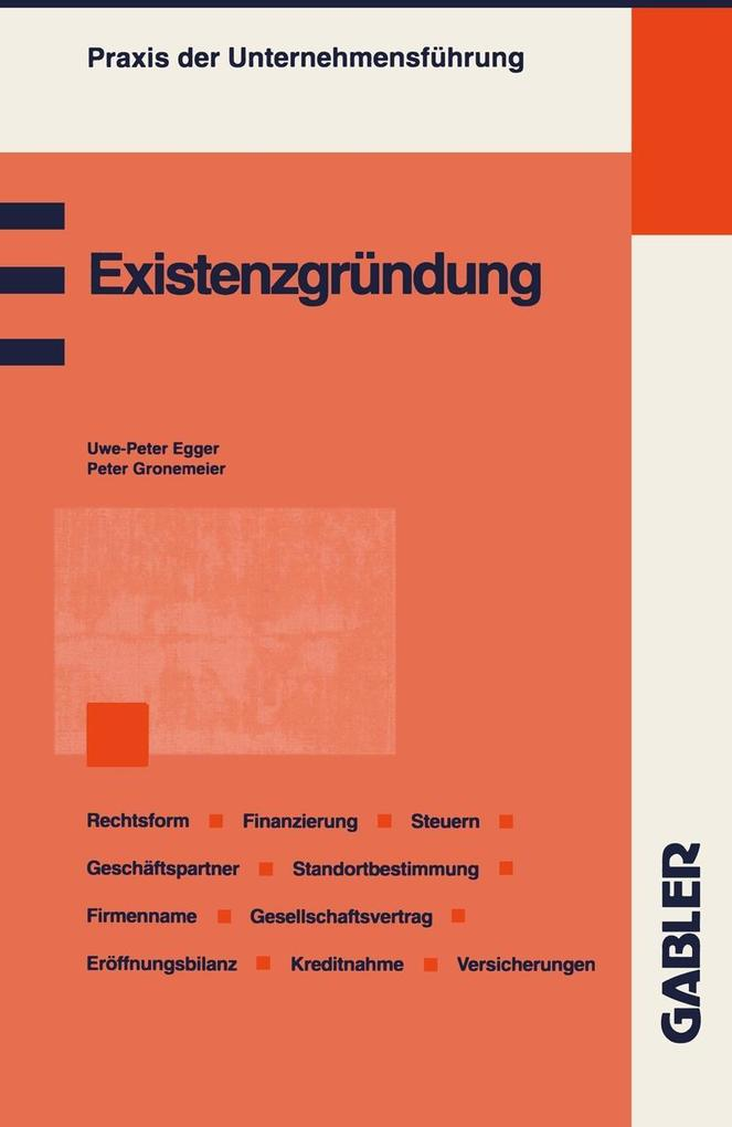 Existenzgrundung als eBook Download von Peter G...
