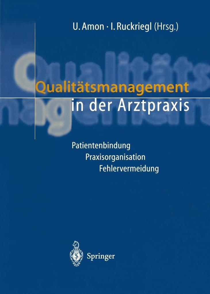 Qualitatsmanagement in der Arztpraxis als eBook...