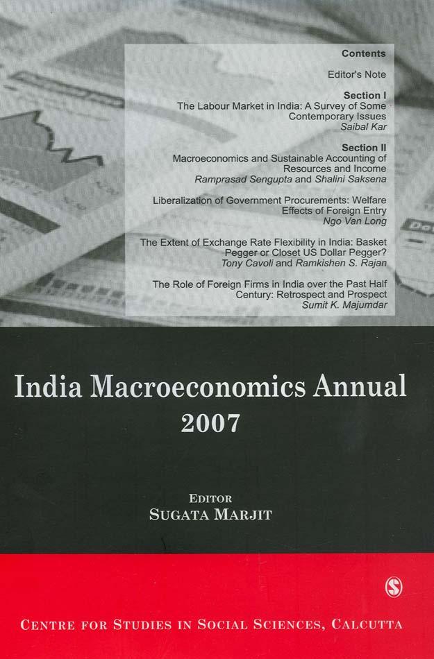India Macroeconomics Annual 2007 als eBook Down...