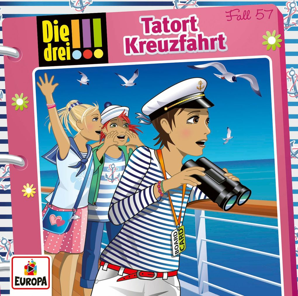 057/Tatort Kreuzfahrt als Hörbuch CD von Die dr...