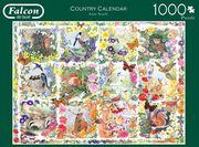 Jumbo Spiele - Country Calendar - 1000 Teile