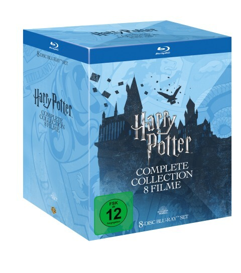 Harry Potter als DVD