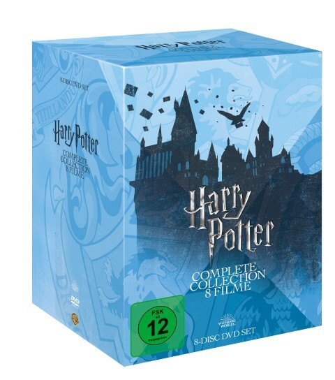 Harry Potter als DVD