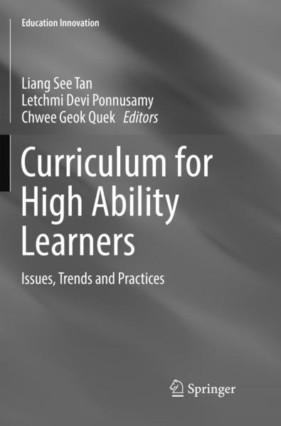 Curriculum for High Ability Learners als Buch von