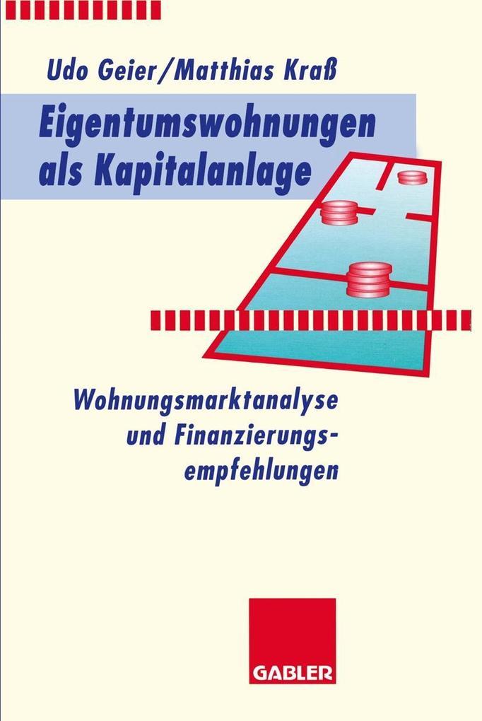 Eigentumswohnungen als Kapitalanlage als eBook ...
