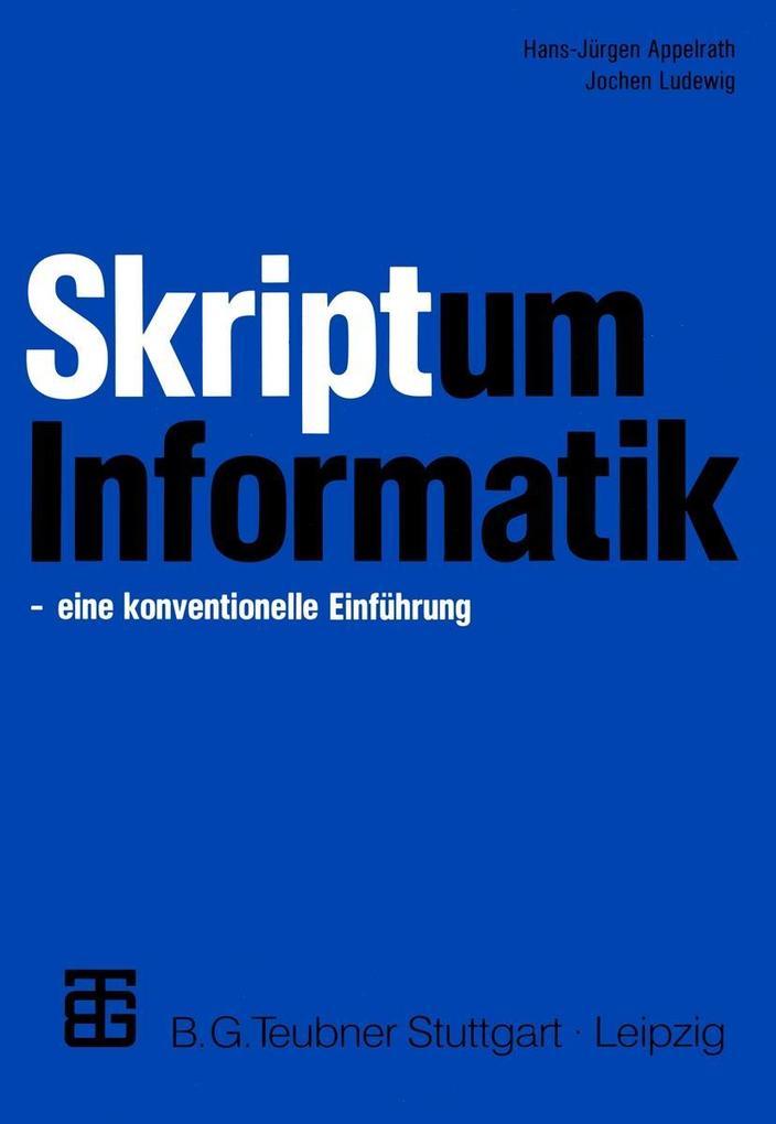 Skriptum Informatik als eBook Download von Hans...