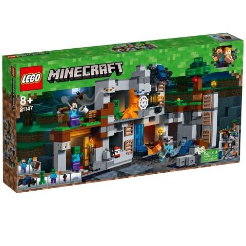 LEGO® Minecraft - 21147 Abenteuer in den Felsen