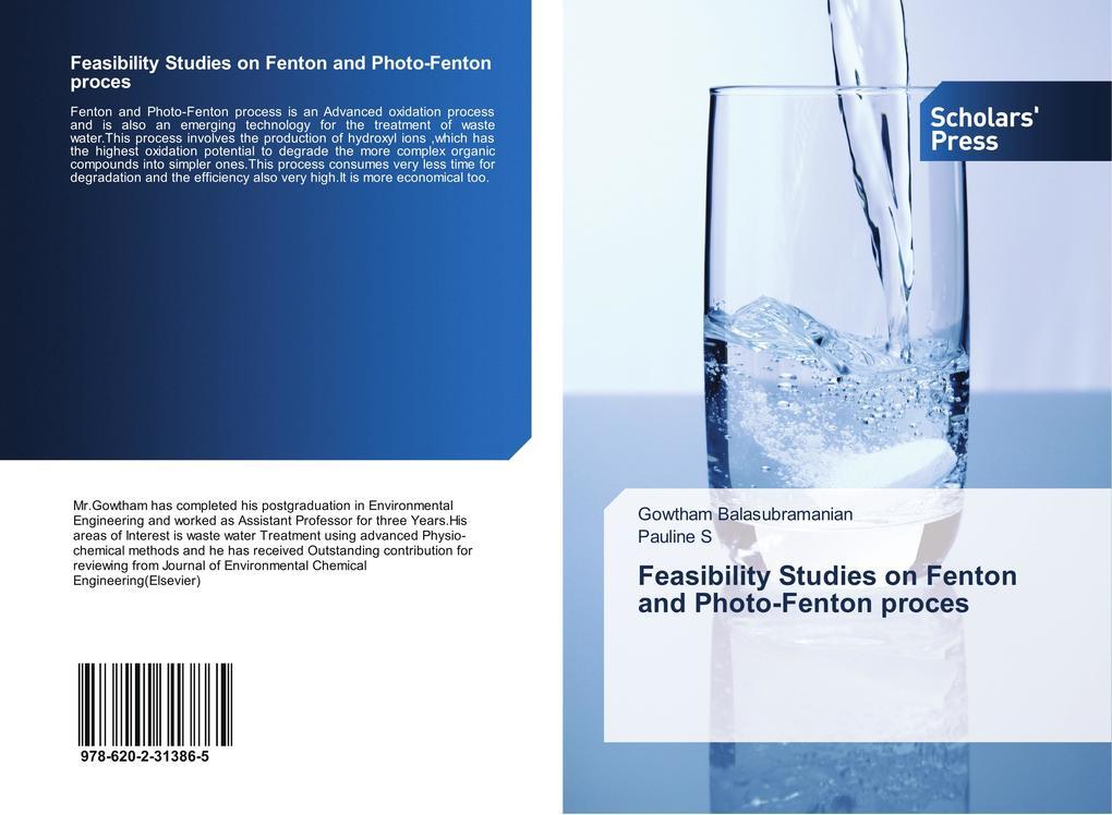 Feasibility Studies on Fenton and Photo-Fenton ...