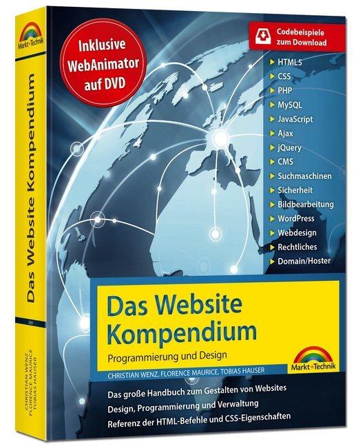 Das Website Handbuch - Programmierung und Design als Buch