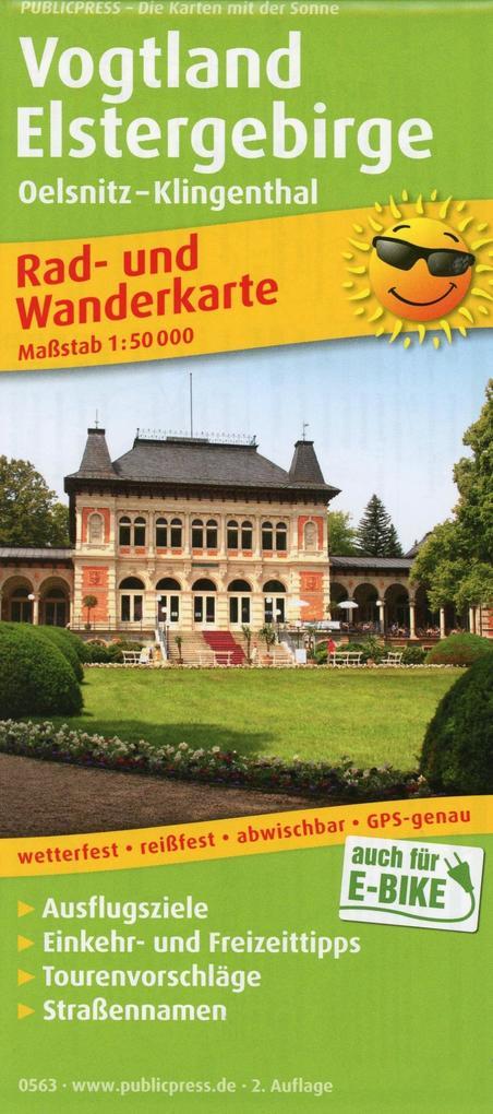Vogtland - Elstergebirge als Buch von