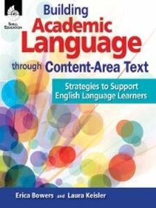 Building Academic Language through Content-Area...