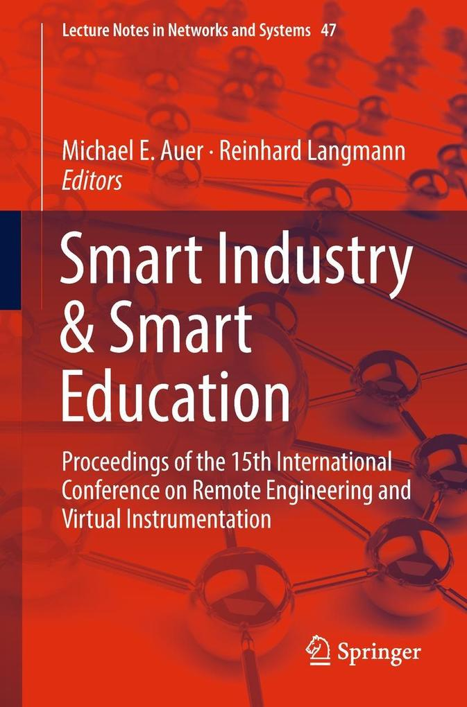 Smart Industry & Smart Education als eBook Down...