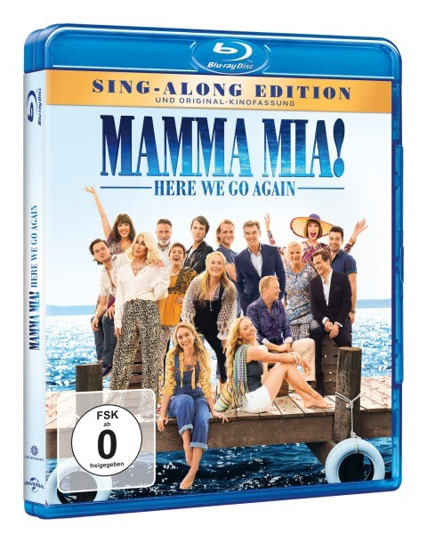 Mamma Mia! Here we go again als DVD