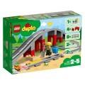 LEGO® Duplo 10872 - Eisenbahnbrücke und Schienen, Eisenbahn