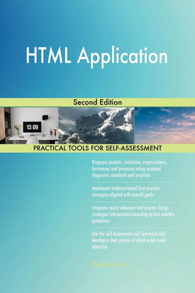 HTML Application Second Edition als eBook Downl...