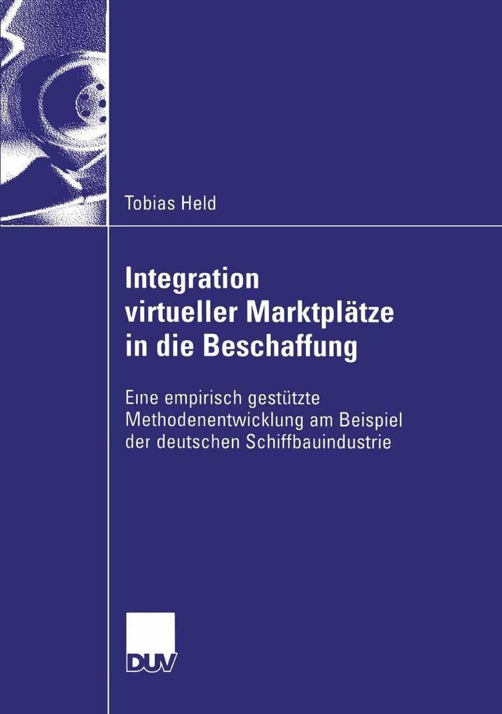 Integration virtueller Marktplatze in die Besch...
