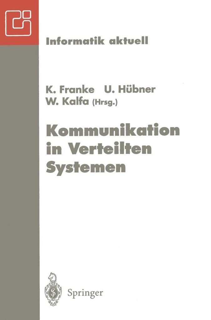 Kommunikation in Verteilten Systemen als eBook ...