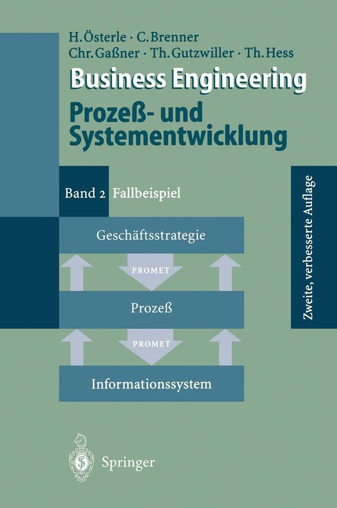 Business Engineering Proze- und Systementwicklu...