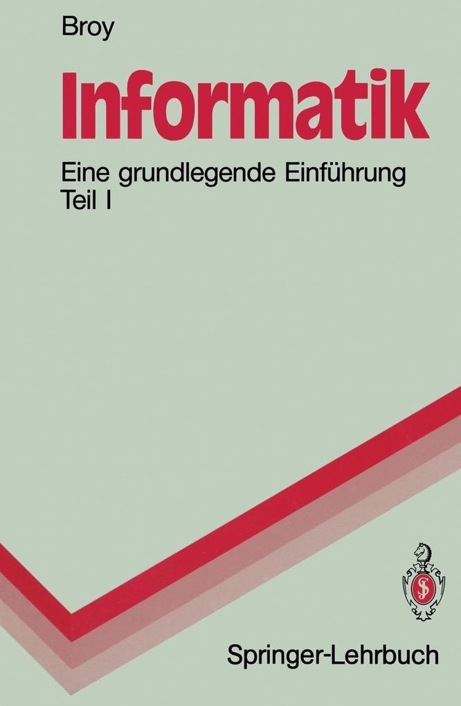Informatik als eBook Download von Manfred Broy