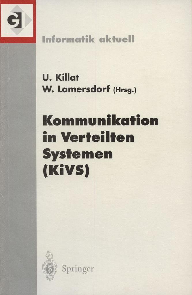 Kommunikation in Verteilten Systemen (KiVS) als...