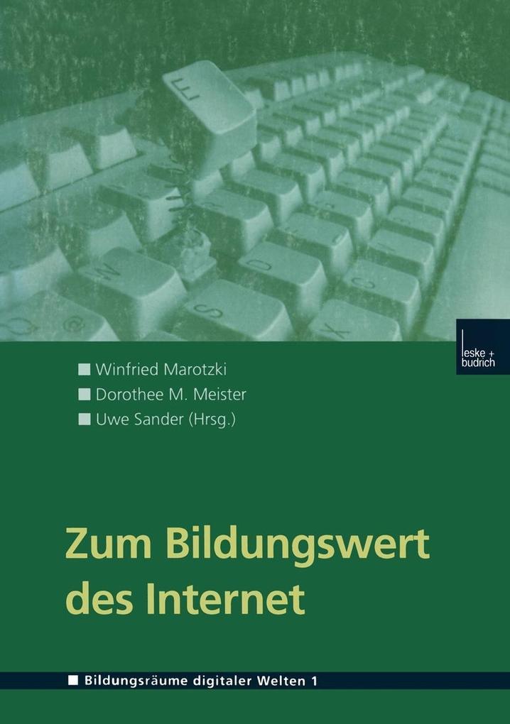 Zum Bildungswert des Internet als eBook Downloa...