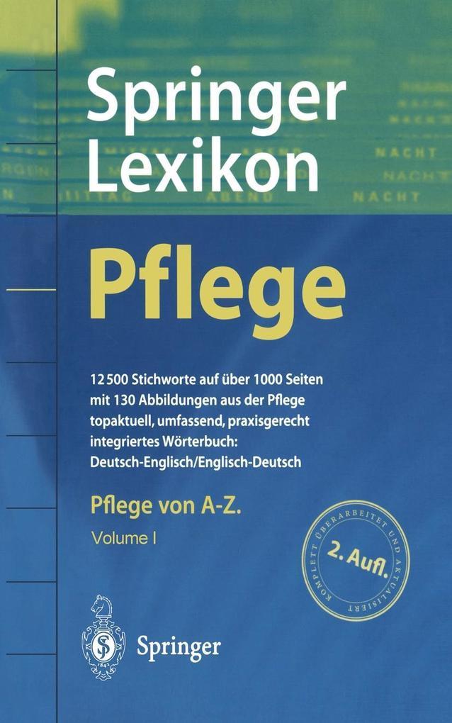Springer Lexikon Pflege als eBook Download von