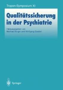 Qualitatssicherung in der Psychiatrie als eBook...