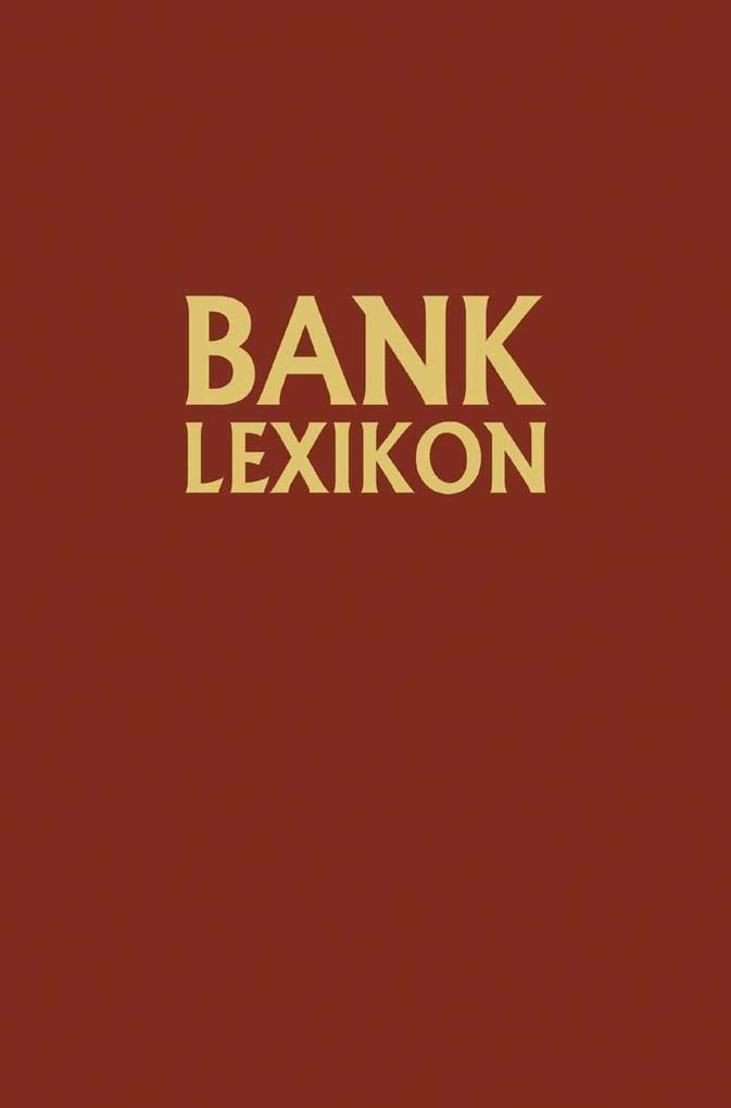 Bank-Lexikon als eBook Download von Josef Loffe...