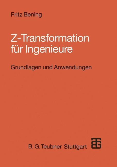 Z-Transformation fur Ingenieure als eBook Downl...