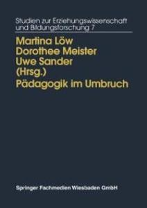 Padagogik im Umbruch als eBook Download von