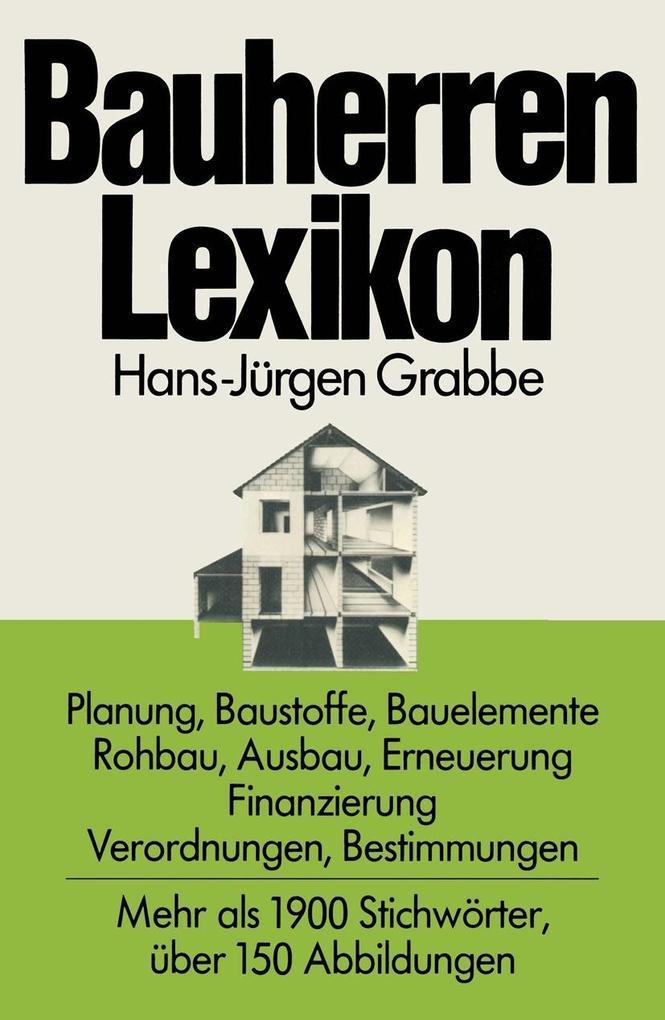 Bauherren Lexikon als eBook Download von Hans-J...