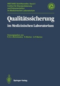 Qualitatssicherung als eBook Download von